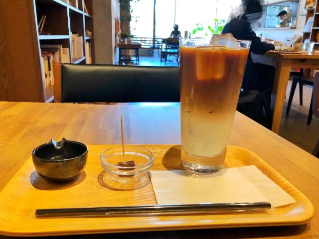 平針カフェ【キッサマシマロ】アイスカフェオレ