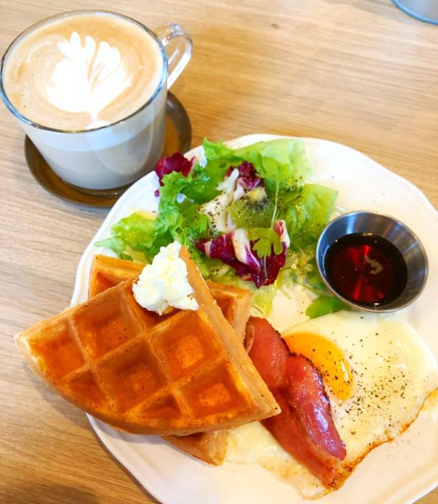 名古屋市天白区【Cafe WONDER(カフェワンダー)】モーニング 実物3