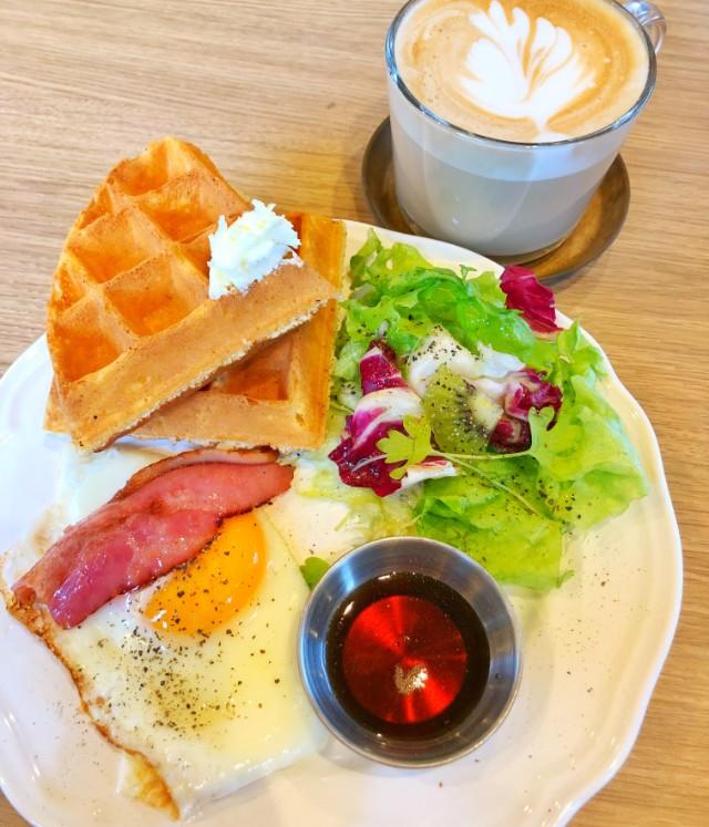 名古屋市天白区【Cafe WONDER(カフェワンダー)】モーニング実物2