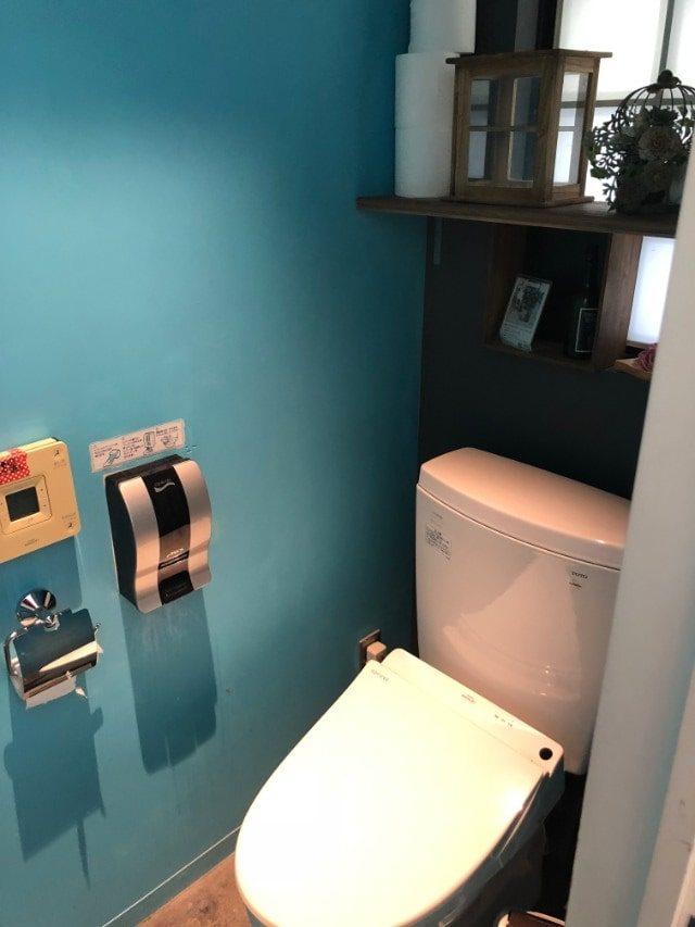 名古屋市天白区【COTTONY(カトニー)】内観 女性用トイレ