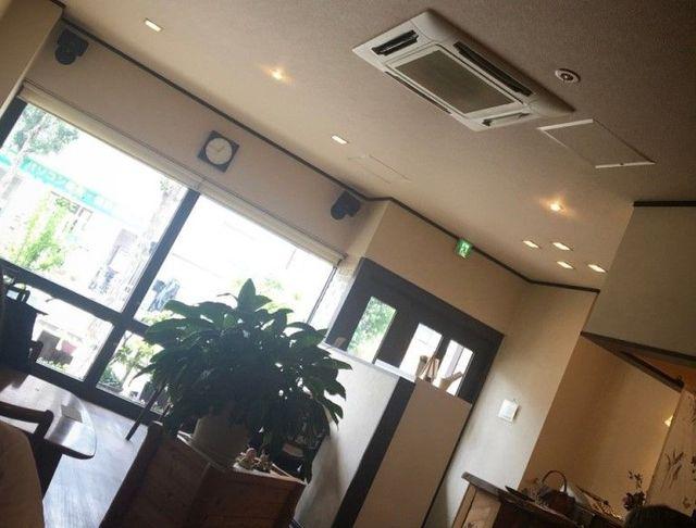 名古屋市天白区 ふんわり茶房の店内