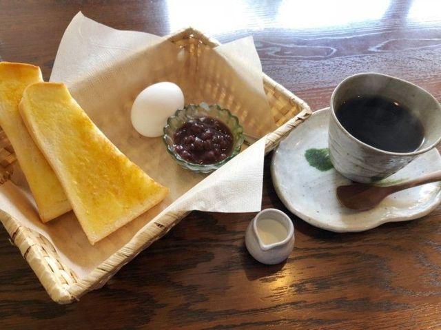 名古屋市天白区 ふんわり茶房のモーニング