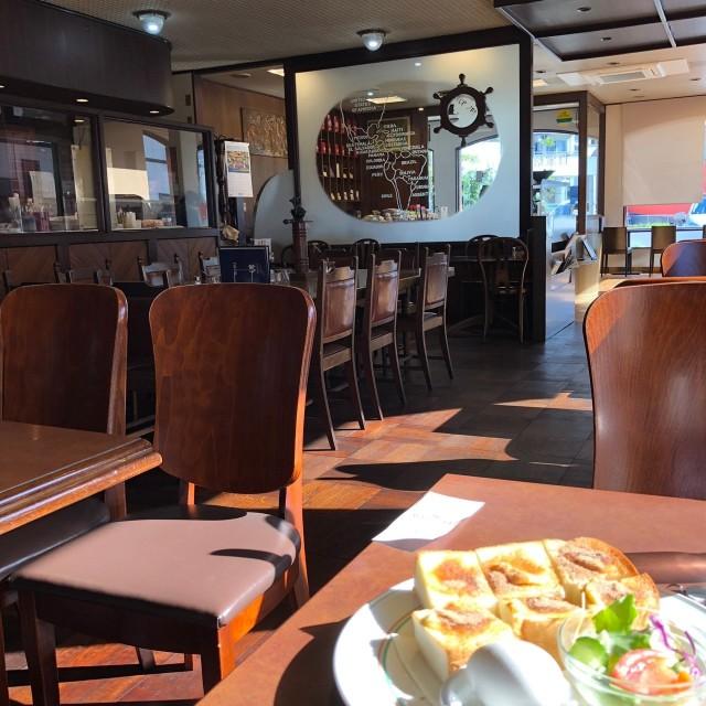 名古屋市天白区【GOLPIE COFFEE(ゴルピーコーヒー)】モーニング 店内