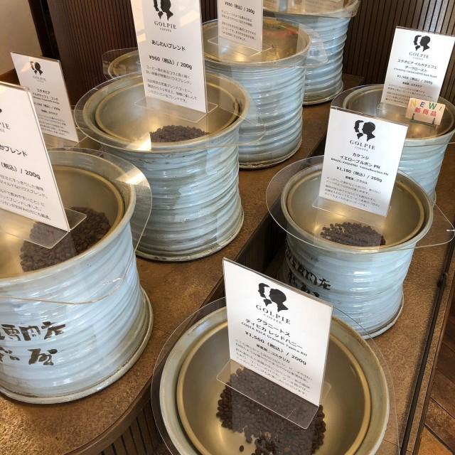 名古屋市天白区【GOLPIE COFFEE(ゴルピーコーヒー)】モーニング 店内2