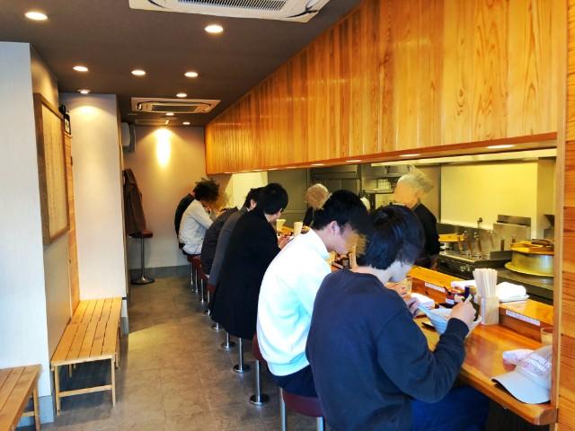 名古屋市天白区ラーメン【一陽軒】店内1