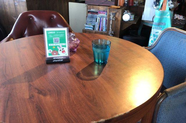 名古屋市天白区【Laidback】のテーブル席