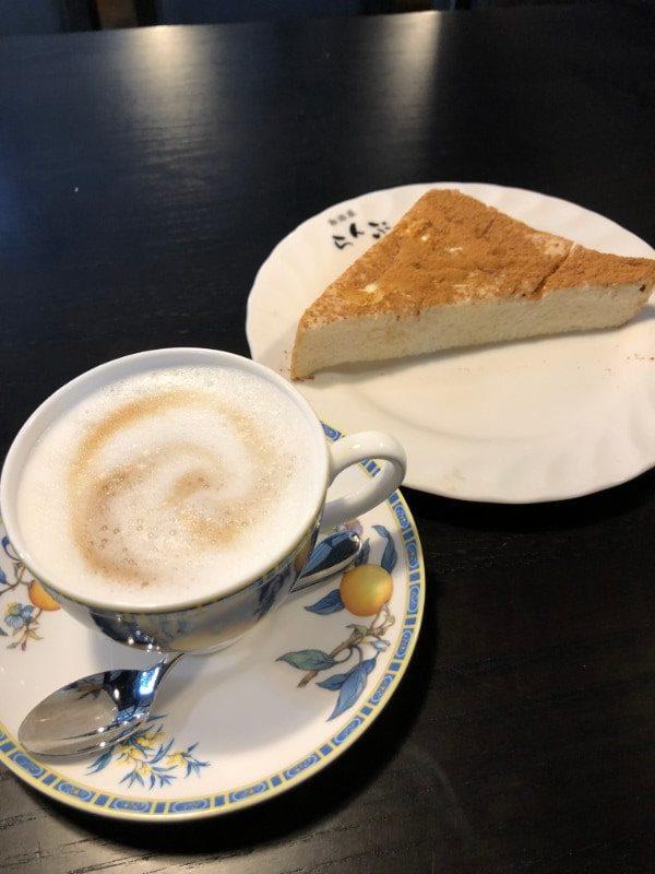 名古屋市天白区「珈琲屋らんぷ天白店」のモーニングトースト