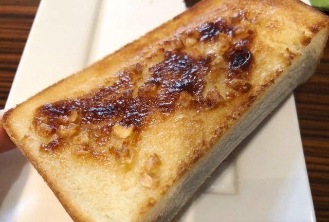 名古屋市天白区 珈食房 る ぱん 平針店のトースト