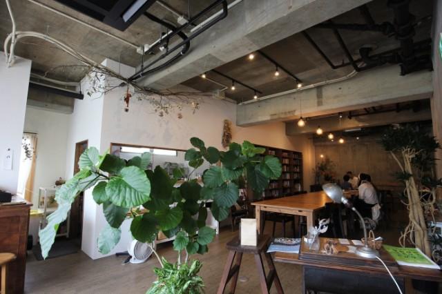 名古屋市天白区「キッサ マシマロ」 店内