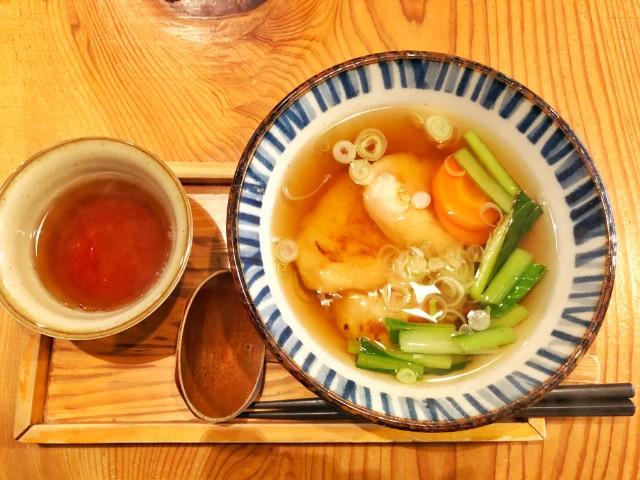 名古屋市天白区【もちつき庵】モーニング 雑煮2