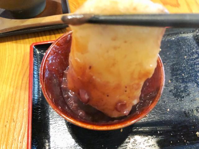 名古屋市天白区【もちつき庵】モーニング のびるお餅