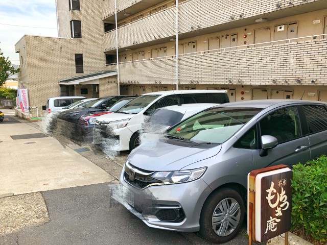 名古屋市天白区【もちつき庵】モーニング 駐車場満車