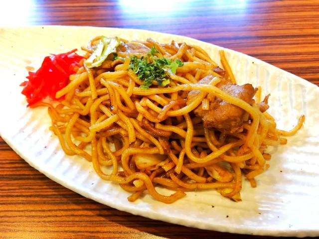 名古屋市天白区平針カフェ【るぱん】ランチ 焼きそば
