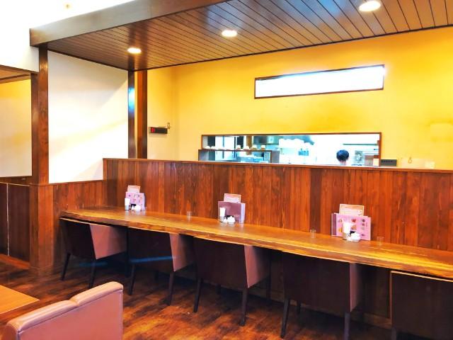 名古屋市天白区平針カフェ【るぱん】カウンター席