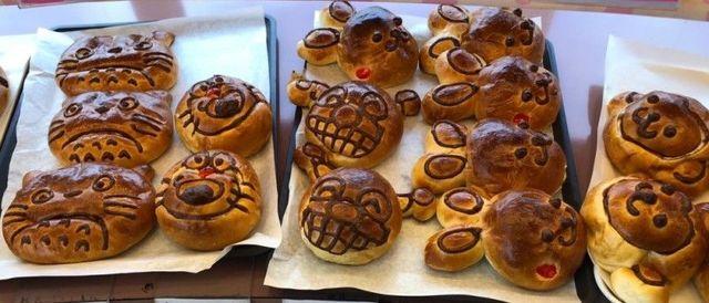 名古屋市天白区 シャンテーコジマのキャラクターパン