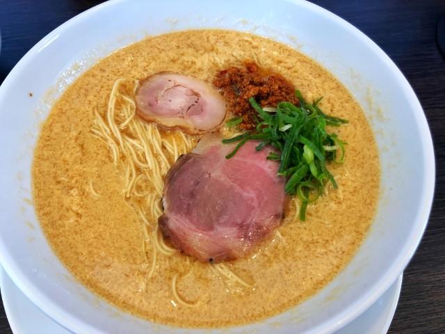 平針ラーメン【八麺山(はちめんざん)】たまご醬々麺1