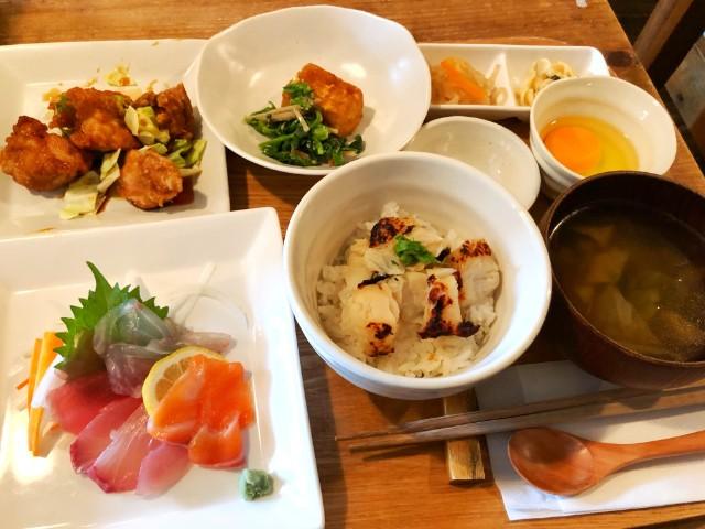 平針駅周辺おすすめランチ店【ことり食堂】定食