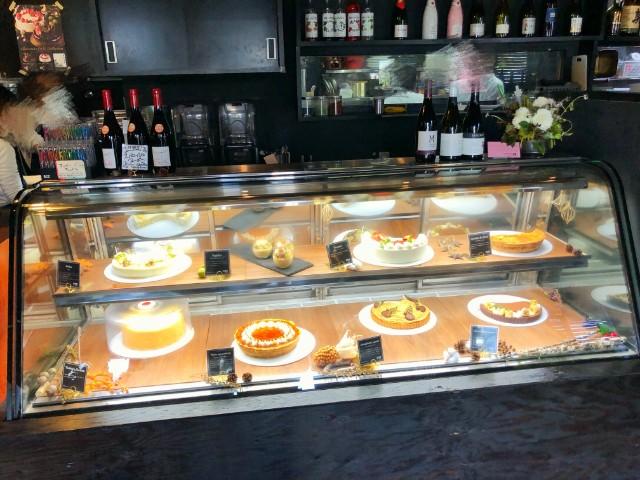 平針ランチ【リグノーサカフェ】試験場周辺 ケーキのケース