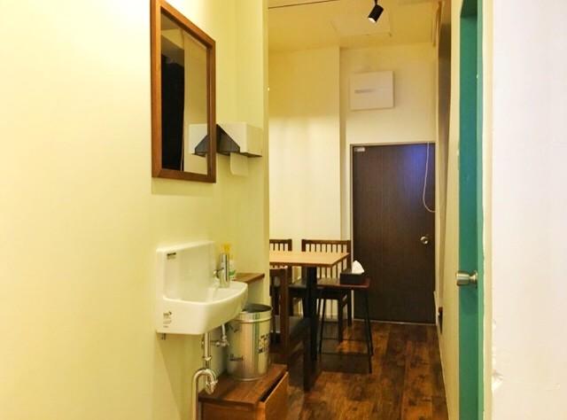 天白区平針ラーメン【montana(モンタナ)】テーブル席