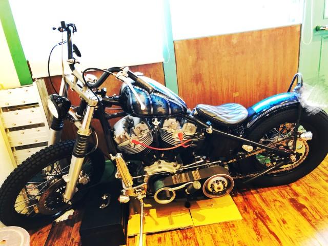 天白区平針ラーメン【montana(モンタナ)】バイクのディスプレイ