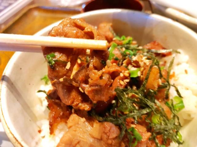平針ランチ【居酒屋 膳】炭焼き豚カルビ丼2