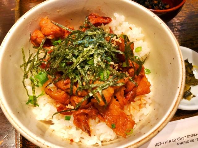 平針ランチ【居酒屋 膳】炭焼き豚カルビ丼