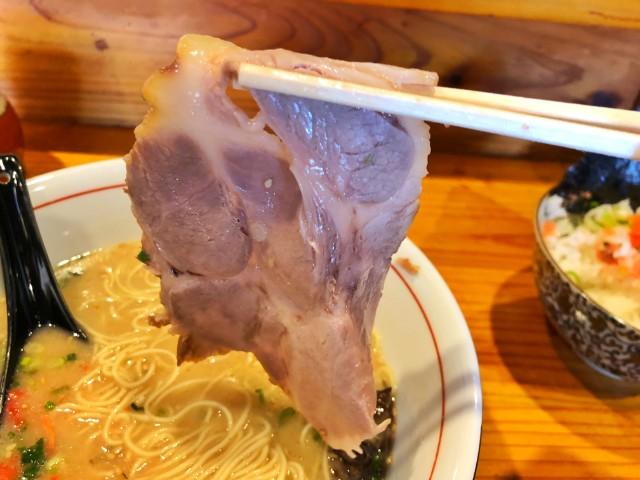 平針ラーメン【亀八】チャーシュー