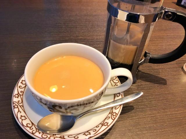 平針カフェ(試験場近く)【元町珈琲 愛知徳重の離れ】プレスカフェオレ1
