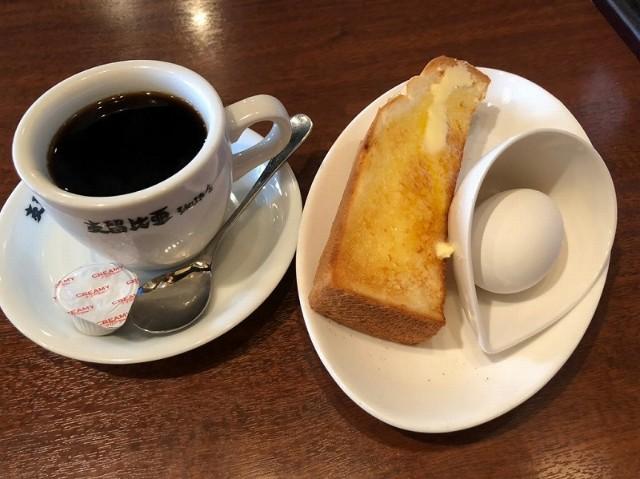 名古屋平針駅周辺おすすめモーニング店【支留比亜珈琲店】モーニング