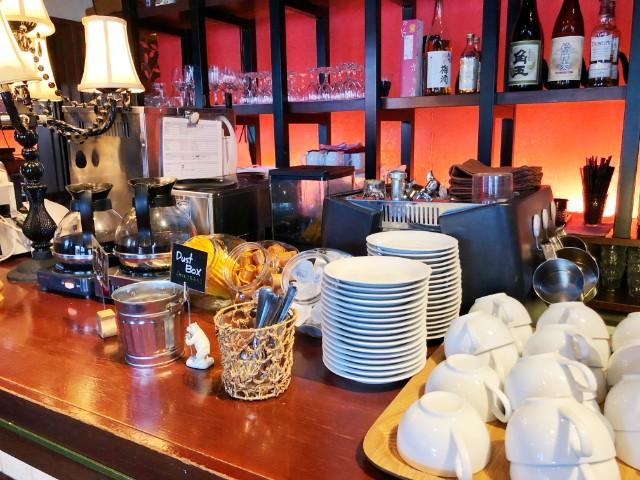 平針試験場ランチ【yebisu go go cafe(エビスゴーゴーカフェ)】フリーホットドリンク