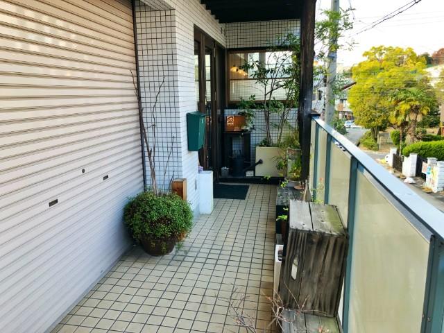 平針試験場ランチ【遊眠堂CAFE】入口1