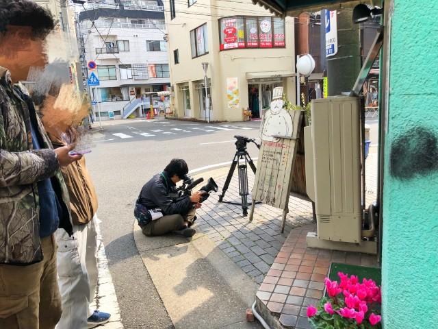 覚王山ランチ【キッチンひらき】TV取材2