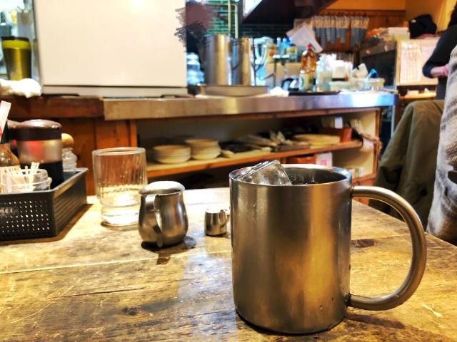 覚王山ランチ【キッチンひらき】アイスコーヒー