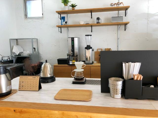 平針【BENCH COFFEE STAND (ベンチコーヒースタンド)】マシン類
