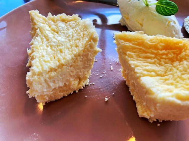 覚王山カフェ【ジクー】低糖質チーズケーキ3