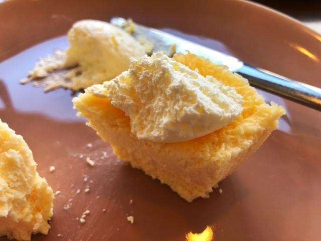 覚王山カフェ【ジクー】低糖質チーズケーキ4