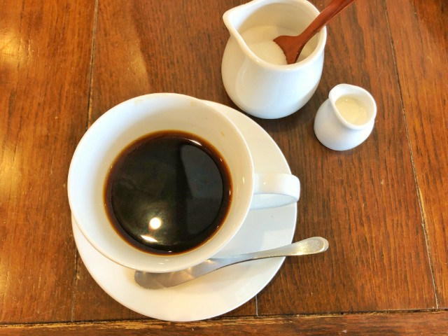 覚王山カフェ【ジクー】コーヒー