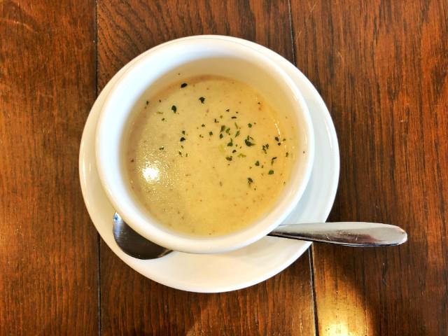 覚王山カフェ【ジクー】スープ1