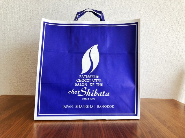 覚王山【chez-shibata(シェ・シバタ)名古屋】紙袋