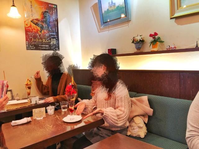 四間道/円頓寺パフェ【カフェ ド リオン (Cafe de Lyon)】インスタ映え
