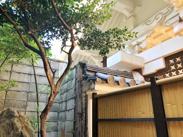 四間道/円頓寺 カフェ【なごのや(旧:西アサヒ)】中庭3