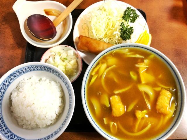 覚王山ランチ【玉屋】カレーうどん定食