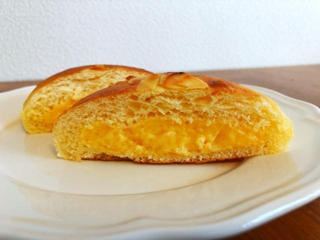 名古屋覚王山パン【Unjour(アンジュ―ル)】うみたてたまごのクリームパン3