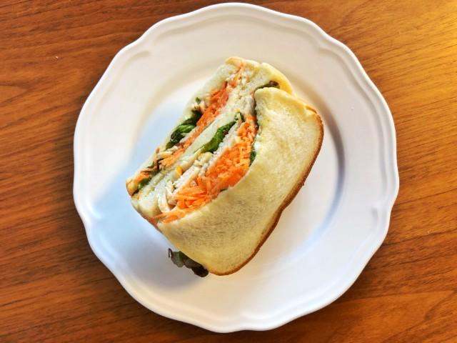 名古屋覚王山パン【Unjour(アンジュ―ル)】サンドイッチ1