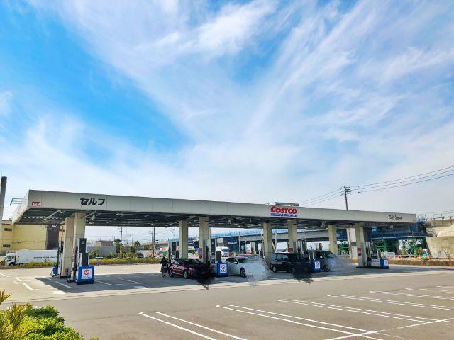 【コストコ名古屋守山オープン情報】ガソリンスタンド1
