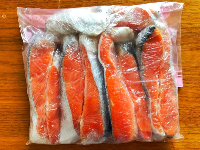 【コストコ名古屋守山オープン情報】銀鮭冷凍7