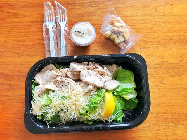 【コストコ名古屋守山オープン情報】チキンシーザーサラダ3