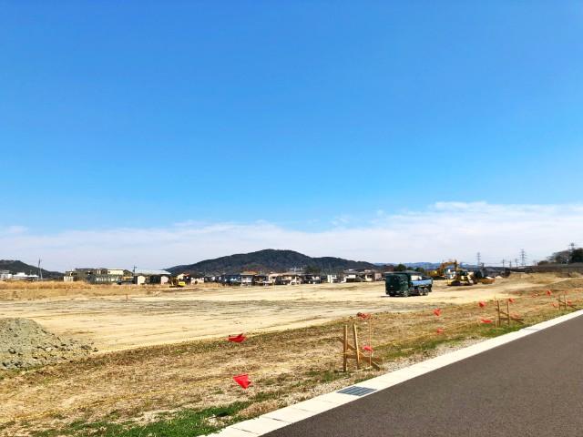 【コストコ名古屋守山オープン情報】建設予定地1