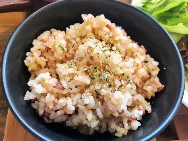本山【ベジキッチン・グーグー】ビーガン、グルテンフリー・マクロビ 玄米ごはん