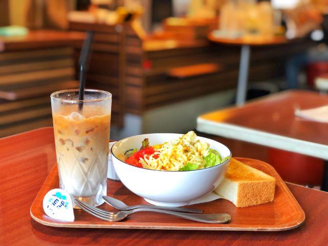 いりなか【サラダショップランチア(LANCIA)】サラダモーニング1
